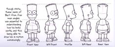 Dive into The Art of the Simpsons with a gallery of Original Model Sheets. The satiric adventures of a working-class family in the misfit city of Simpsons Drawings, Simpsons Art, Cartoon Drawings, Character Model Sheet, Character Modeling, Reference Images, Design Reference, Zbrush, Tutorials