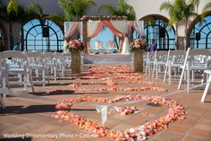 Beautiful and colorful Indian wedding ceremony http://www.maharaniweddings.com/gallery/photo/85031