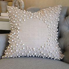 Drift Natural Linen Pillow