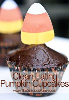 Clean Eating Pumpkin Cupcakes