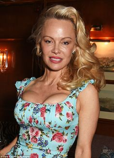 Bae-watch! Pamela Anderson proved she still had the star factor twenty years on as she put...