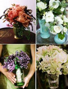 ideas for cheap      wedding centerpieces