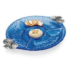 seashore serving pieces | ... Serving Pieces :: Coastal Decor Table :: By The Sea Decor - Beach