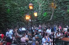 Montreal's best terrasses and rooftop patios include the terrace at Pub Sainte-Élisabeth.