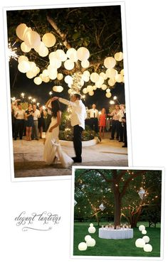 Christopher loves the lanterns in the top photo. As do I. :)