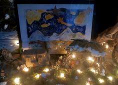 Nativity Painting.