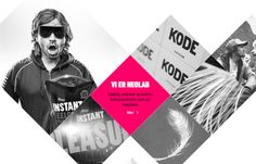 10 Brilliant Web Designs Built With Unusual Shapes & Angles