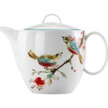 Maybe someday I can afford my Lenox 'Chirp' china