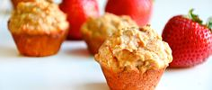 Peanut Butter and Jelly Breakfast Muffin Recipe via @dailyburn