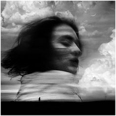 Los sueños by Luis Mariano González on Luis Mariano, Visible Thinking, Rainbow Sky, Out Of Focus, Up In Smoke, Wild Hair, Melancholy, Black And White Photography, Clouds