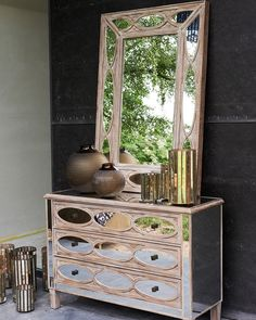 An unusual and striking large mirror in sustainable paulownia wood with a bold inlaid mirror tile design. Hallway Mirror, Window Mirror, Mirror Tiles, Wall Mirrors, Contemporary Bedroom, Contemporary Mirrors, Industrial Mirrors, Copper Mirror, Rustic White