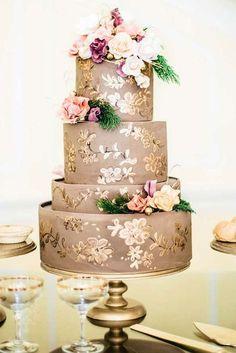 El mejor pastel para tu boda <3 Inspírate en #BodaTotal <3