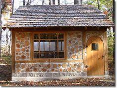 Cordwood cabin