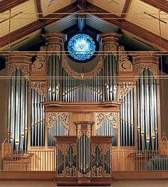John Brombaugh organ at First Presbyterian Church, Springfield, IL