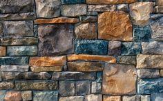 Preview wallpaper decorative, stone, cladding 3840x2400