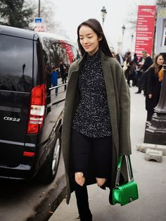 London Fashion by Paul: Street Muses...Models Off Duty at Chanel...PFW, Pa...