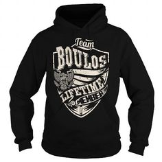 awesome BOULOS T-shirt Hoodie - Team BOULOS Lifetime Member