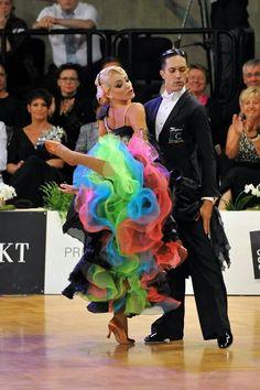 Emanuel Valeri & Tania Kehlet | Location unknown [multicolored underskirt]