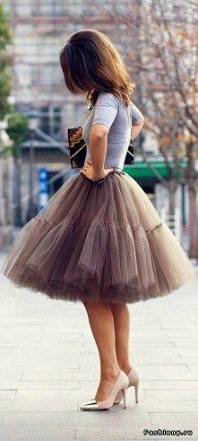 181ade28e3 Envío Libre 6 Capas 2016 Del Tutú de Tul Faldas Midi falda formal de  Partido de La Manera Del Diseño de Las Mujeres saias femininas faldas cortas