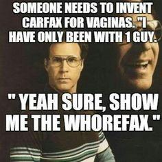 HAHAHAH Show me the whorefax