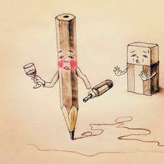 風刺画、ヘタウマ、シュール色々な表現が浮かぶが、どれも該当しないような気がする。一貫しているのは「やる気の無さ」全開のイラストレーターkeigoさん