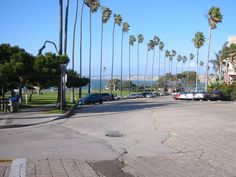 La Jolla parking lot