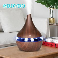 Led Lamps Imported From Abroad Portable Diffuser Electric Cool Mist Fog Aromatherapy Humidifier Office Home Car Night Lamp Diffuser Creative Atmosphere Lights Evident Effect Led Night Lights