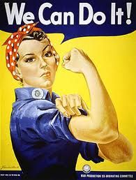 The Rosie the Riveter poster