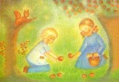 Ruth Elsässer - Ruth und Hans / Apfelernte