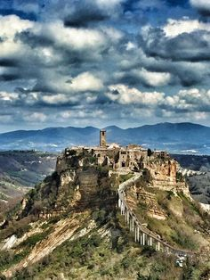 Civita di Bagnoregio-Viterbo-Lazio