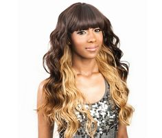 Super Bang Plus 17 Synthetic Wigs, Lace Wigs, Bangs, Long Hair Styles, Hot, Beauty, Fringes, Long Hair Hairdos, Lace Closure