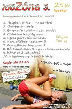 Boszorkánykonyha Fitness Tips, Health Fitness, Insanity Workout, Burpees, At Home Workouts, Abs, Challenges, Diet, Sports