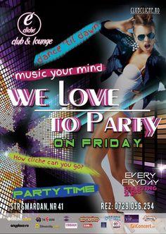 We love to party on Friday | PeLipscani.RO | Ghid dedicat Centrului Vechi | Petreceri in Bucuresti | Sambata seara | Centrul Istoric
