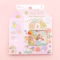 Sumikko Gurashi Seal Bits | Kawaii Pen Shop Stickers Kawaii, Cute Stickers, Cute Things From Japan, Glue Tape, Journal Aesthetic, Cute Stationery, Stationary, Scrapbooking, Planner Supplies