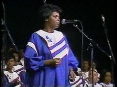 "This is the Mississippi Mass Choir singing ""Having You There"" led by Venora Brown in 1989."