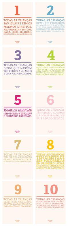 Direitos das Crianças em Português Gostamos Disto!