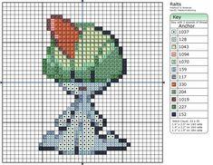 280 - Ralts by Makibird-Stitching.deviantart.com on @DeviantArt