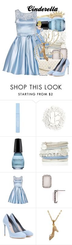 """Cinderella"" by amarie104 ❤ liked on Polyvore featuring Urban Decay, Forever New, Kate Spade, Miu Miu and Disney Couture"