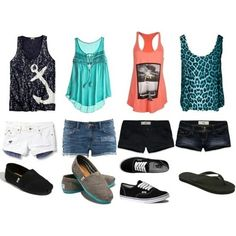 THIS IS TOTALLY WHAT I'LL WEAR ALL SUMMER!!!!!