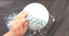 Garden Decoration DIY: Make eye-catchers out of polystyrene balls. Garden Types, Salt Dough, Diy Garden Decor, Easy Garden, Decoration Table, Barndominium, Garden Furniture, Make It Simple, Garden Design
