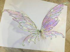 Diy Fairy Wings, Diy Wings, Fairy Wings Costume, Fairy Wings Drawing, Fairy Costume Diy, Fairy Crafts, Diy And Crafts, Costume Ange, Pixie Costume