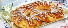 no - Best Pins Baking Recipes, Cake Recipes, Norwegian Food, Norwegian Recipes, Pause Café, Danish Food, Bread And Pastries, Coffee Cake, Bread Baking