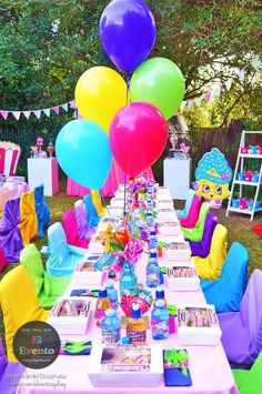 Trendy Shopkins Birthday Party at Kara's Party Ideas. See the whole party and more at karaspartyideas.com!