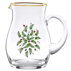 Lenox Holiday Pitcher - http://www.absolutechristmas.com/christmas-dinnerware/lenox-holiday-pitcher/