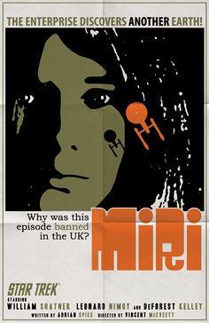 Star Trek OS episode poster by Juan Ortiz