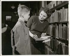 The Librarian (1947).  A vocational film about the career of librarianship.