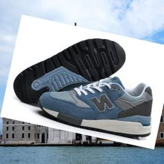 newest bc00a 2ef79 New Balance 998 Classics Men s Trainers Blue-White-Cool Grey. Claire  Mcgowan · Shoes ...