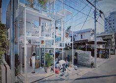 House NA Sou Fujimoto Architects  Tokyo-based studio Sou Fujimoto Architects has completed the House NA project, a three story family home located in a residential district of Tokyo, Japan.