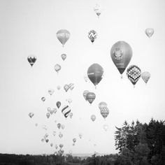 Hot Air Balloon Study Austria 2018 - Limited Edition 1 of 9 Film Photography, Landscape Photography, Hot Air Balloon, Balloons, Exhibitions, Austria, Prints, Study, Image