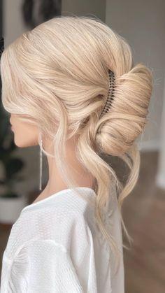 Summer Hairstyles, Easy Hairstyles, Wedding Hairstyles, Wedding Updo, Hair Hacks, Hair Goals, Updos, Hair Tutorials, Long Hair Styles